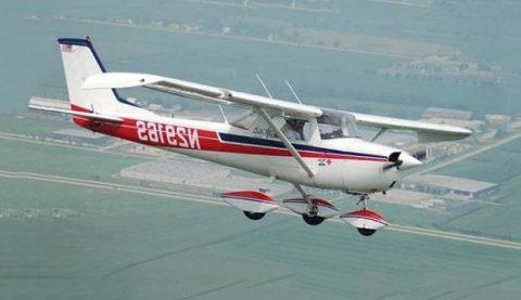 полеты на самолете cessna 150 с аэродрома сельцо