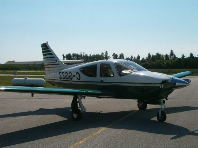 полет на самолете commander 112