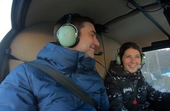 полет на вертолете для двоих в санкт-петербурге