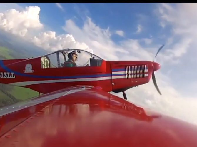 полет на самолете zlin 142