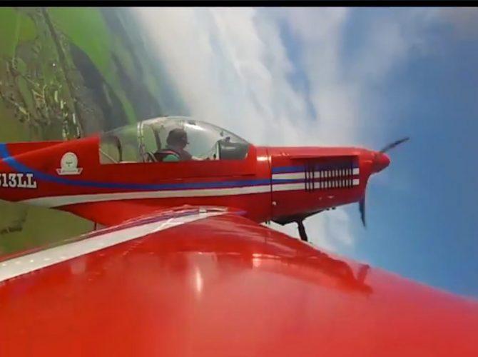 полет на самолете zlin 142 спб