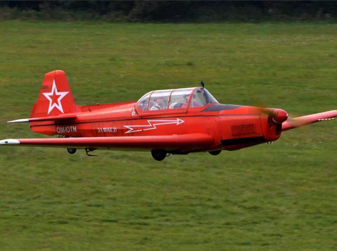 полет на самолете zlin 142 с аэродрома в кронштадте