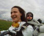 прыжок с парашютом