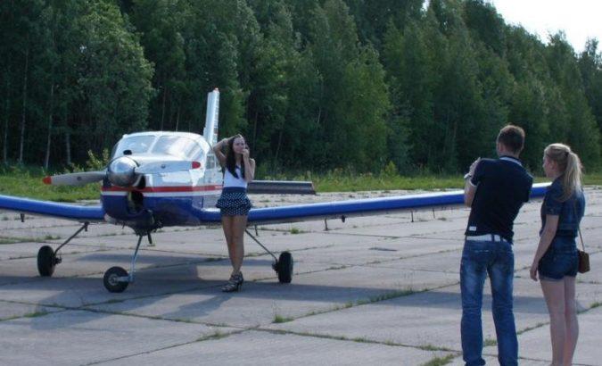 полетать на самолете с управлением