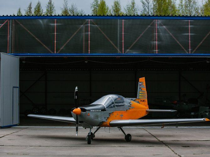 полет на самолете дельфин d-10