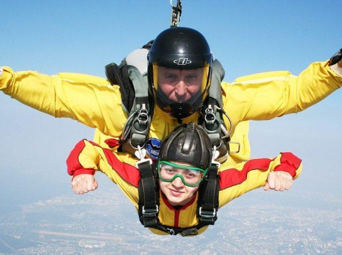 прыгнуть с парашютом спб